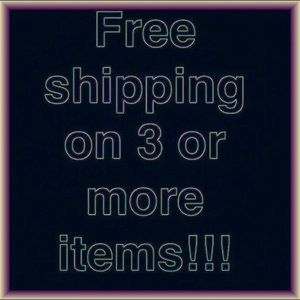 Shipping is FREE on 3 on More